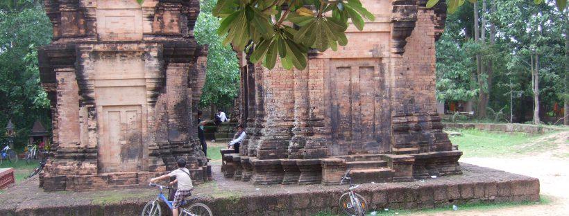 Old Prasat at Wat Preah Enkosei