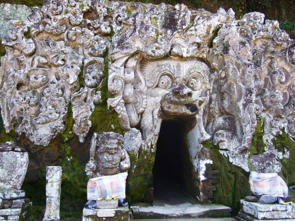 Goa Gajah Elephant Caves in Bali