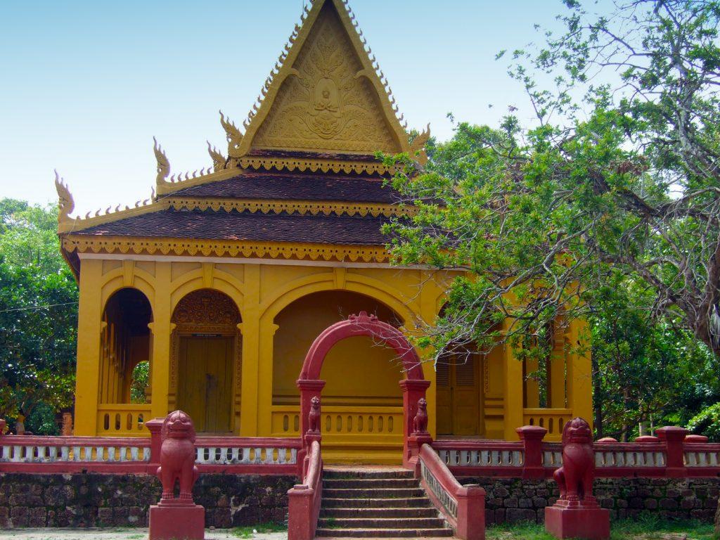 Wat Preah Enkosai in Siem Reap