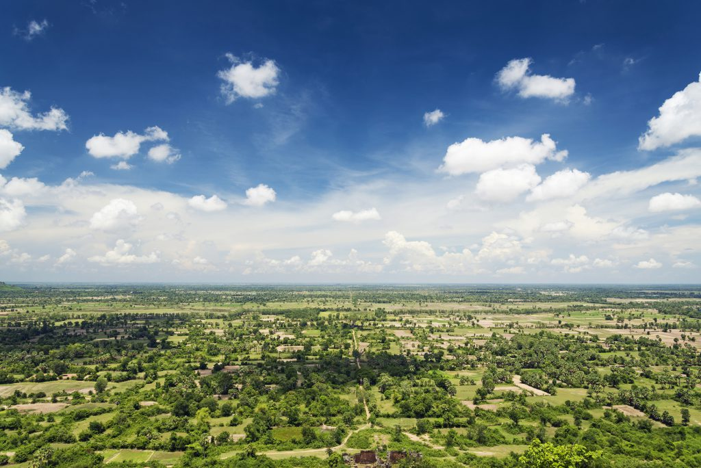 View from Phnom Chisor