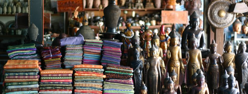 Souvenir Shop in Phnom Penh