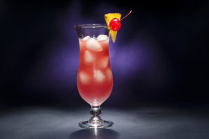 Singapore Sling at the Raffles in Singapore