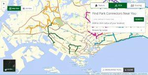 Singapore-Park-Connectors-Map