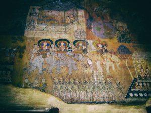 Wat Bo murals