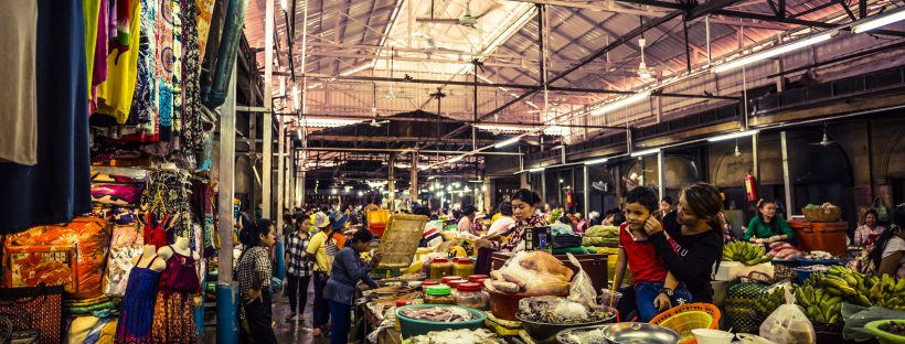 Siem Reap Traditional Market