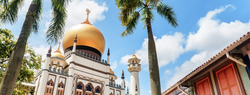 Kampong Glam Mosque in Singapore