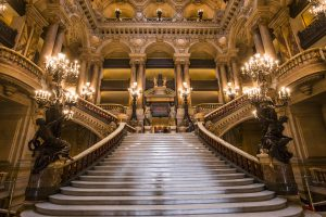 Paris Opera Garnier Grand Stairs