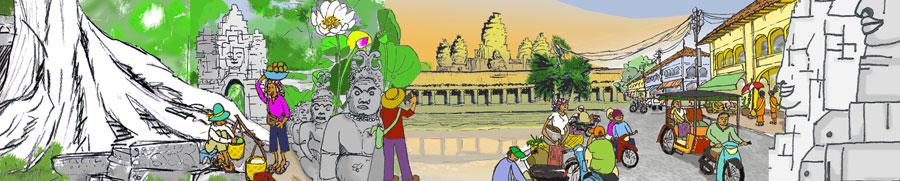 Siem Reap Banner