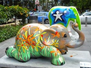Elephants Parade in Singapore Euraisy