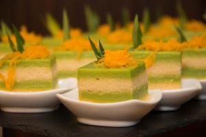Kaya sponge cakes