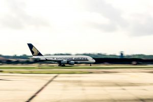 Singapore Airlines A380 Changi Airport