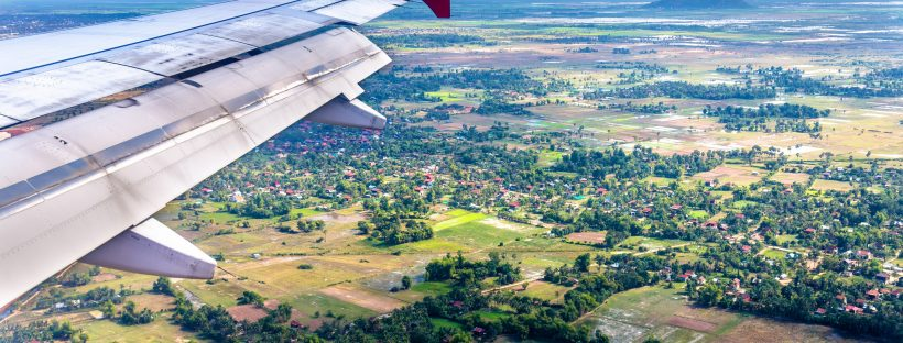 Siem Reap from the air