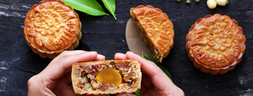 Singapore mooncakes