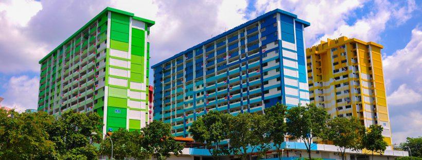 HDB flats in Singapore