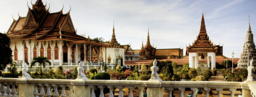 Royal Palace of Cambodia in Phnom Penh