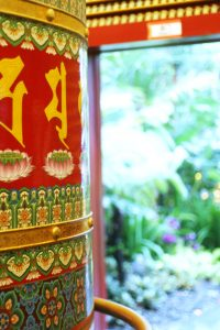 Buddha Tooth Relic Prayer Wheel