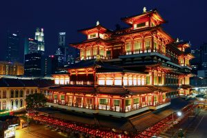 Singapore Buddha Tooth Relic Temple